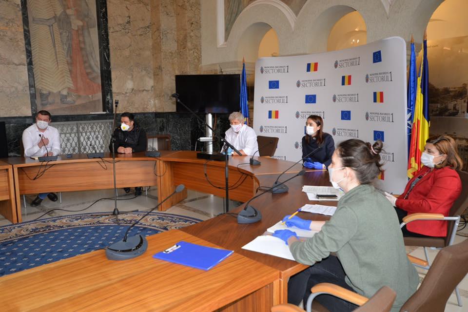 Măsuri importante luate în ședința de lucru de ieri a conducerii Primăriei Sectorului 1