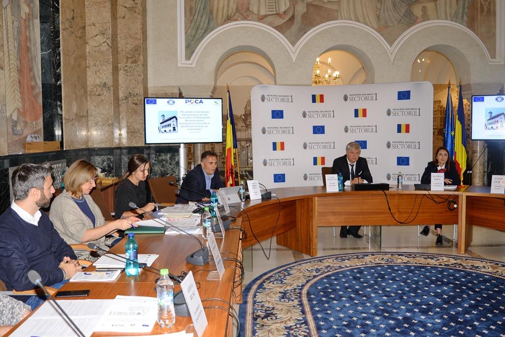 Proiect cu finanțare europeană lansat de Primăria Sectorului 1