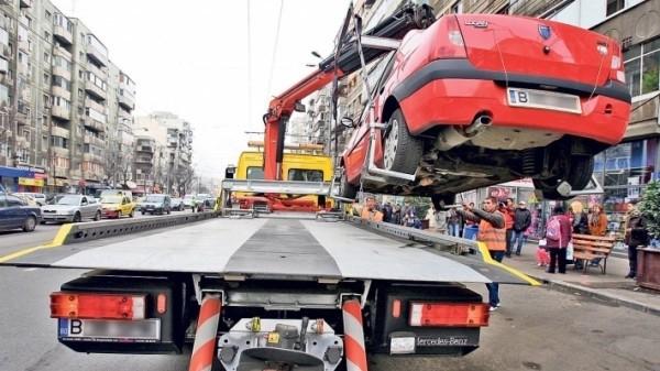A fost adoptat regulamentul de ridicare a mașinilor parcate neregulamentar pe domeniul public al Sectorului 1