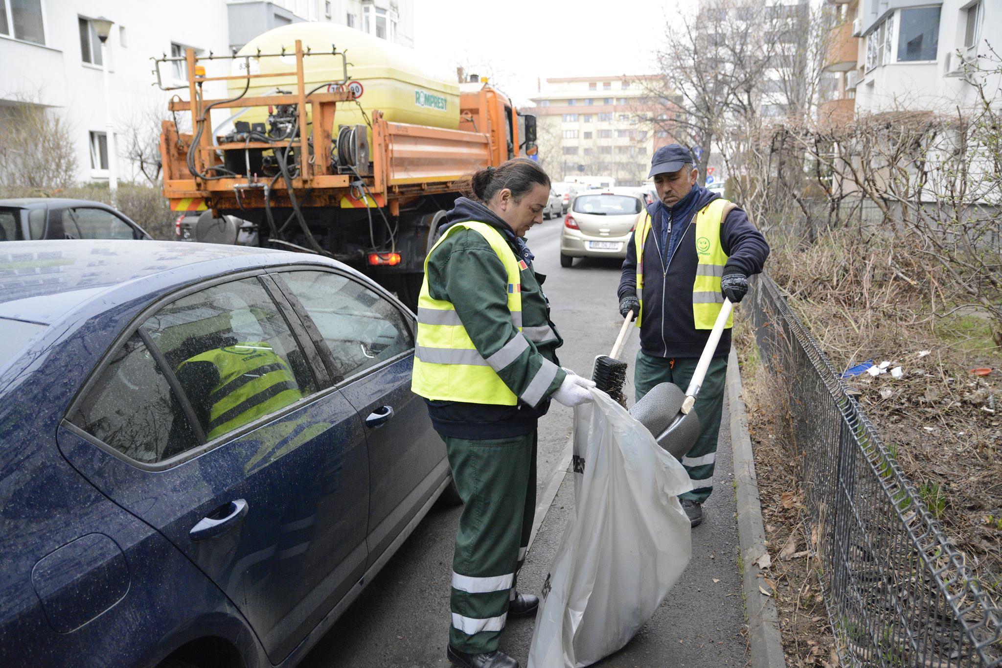 S-a dat startul curățeniei de primăvară în Sectorul 1