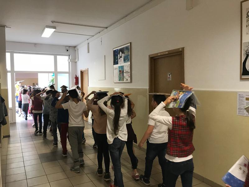 Exercițiu de alarmare-evacuare în cazul producerii unui cutremur la Școala Gimnazială nr. 179, desfășurat de Poliția locală Sector 1