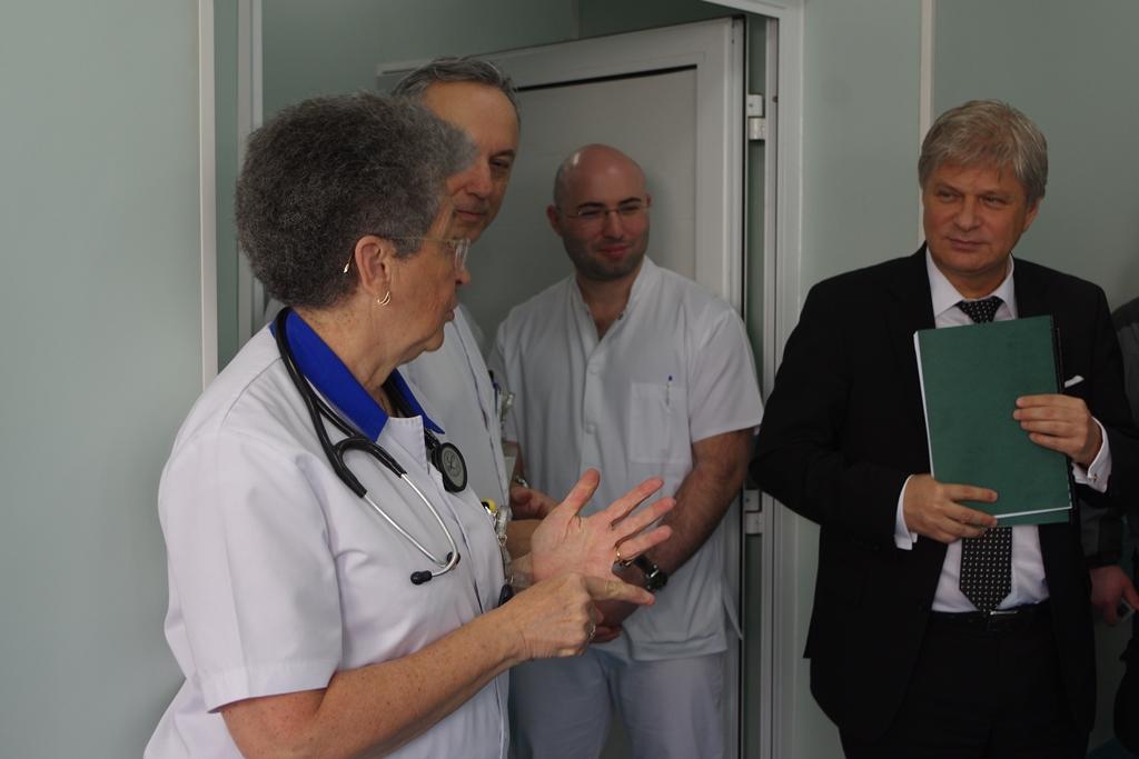 Corp nou de clădire pentru vizitatori la Spitalul Clinic de Urgență Floreasca