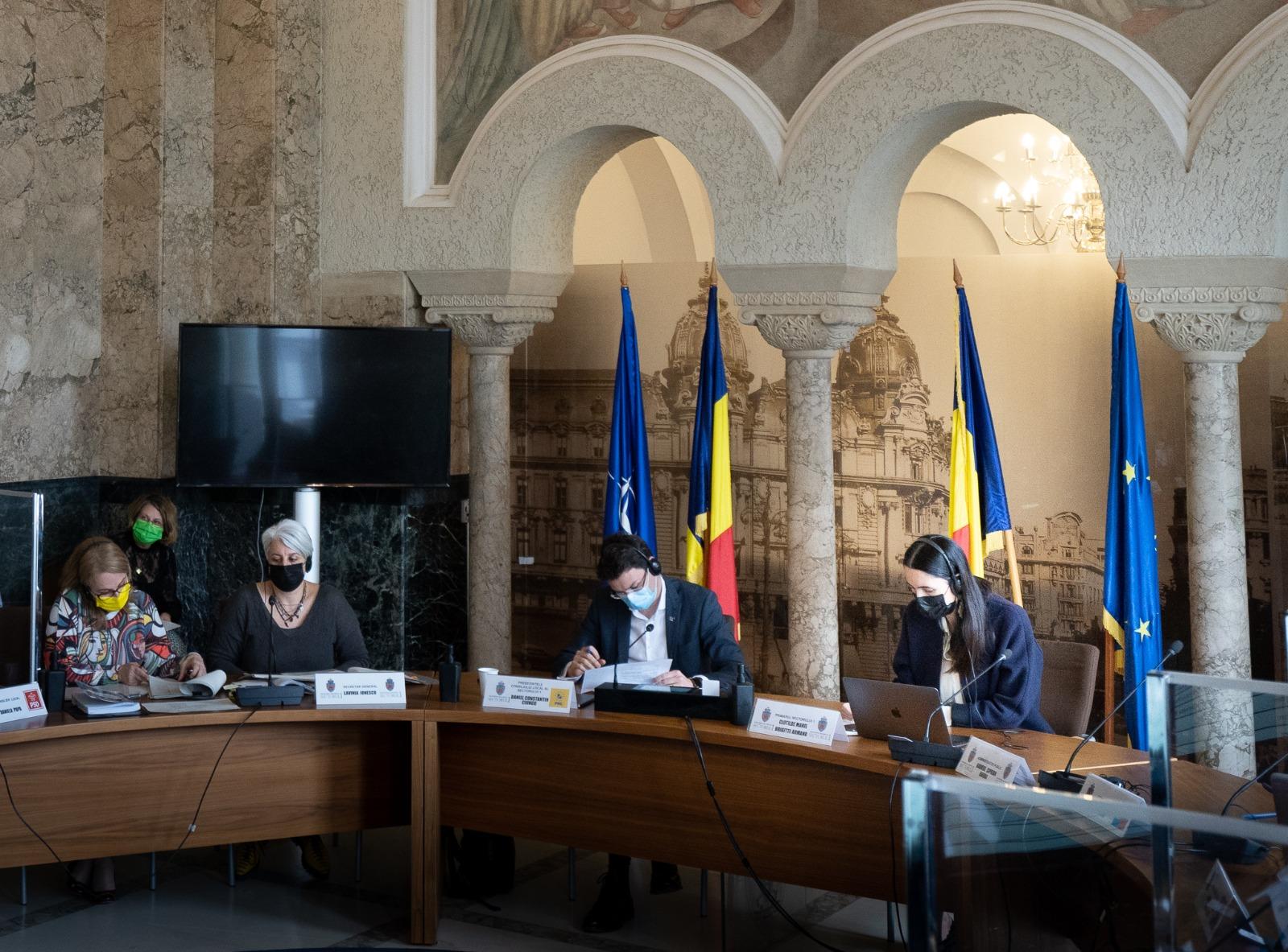 """Consiliul Local a votat bugetul pe anul 2021. Clotilde Armand: """"Luptăm să accesăm fonduri europene"""""""
