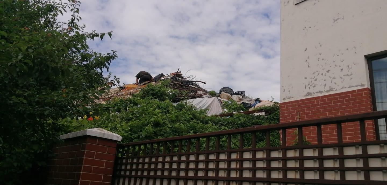 Muntele de gunoi de pe Str. Munteniei va dispărea