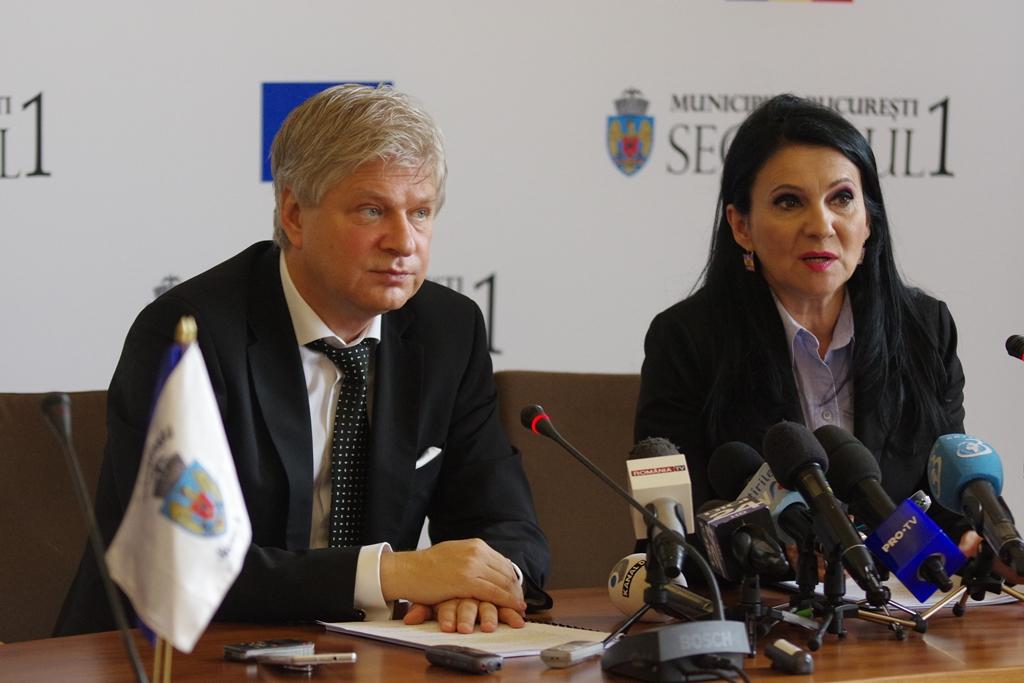 """Primarul Dan Tudorache și Ministrul Sănătății, Sorina Pintea, au prezentat macheta și  structura Spitalului de Urgență """"Sfântul Vasile cel Mare"""""""